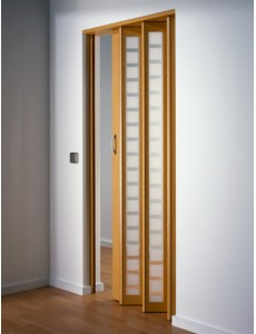 The New Generation Folding Door - Beech & PVC Plastic Concertina Door | Marley Folding Doors Pezcame.Com