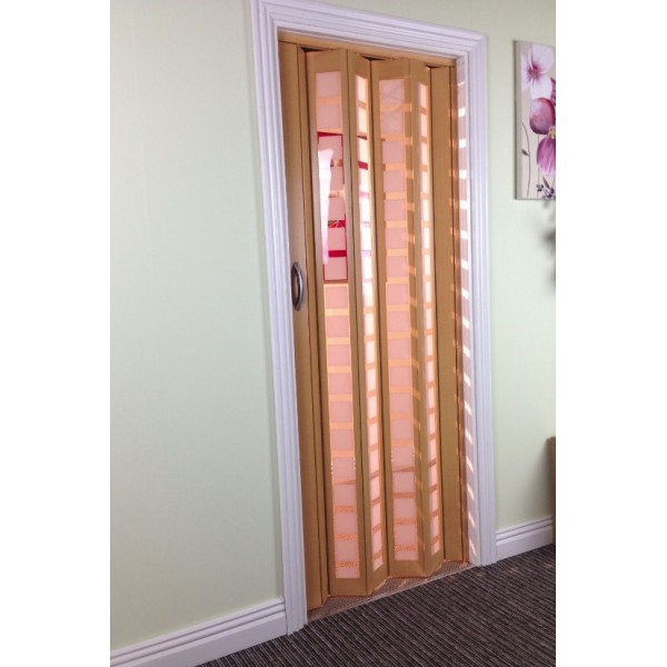 The New Generation Concertina Marley Folding Door - Beech