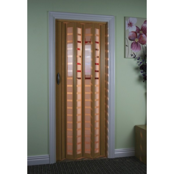 Breathtaking Marley Concertina Folding Door White Contemporary ...