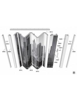 Concertina Folding Door New York Skyline From Marley