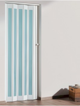The Eurostar Folding Door - White - Glass Lines & Concertina Door \u0026 Wickes Oxford Internal Bi-fold Door Oak Veneer ... Pezcame.Com