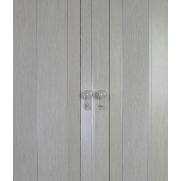 The President Folding Door - White Ash
