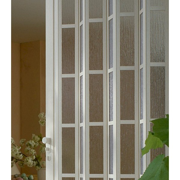 The President Royal White Glass Extension Panel