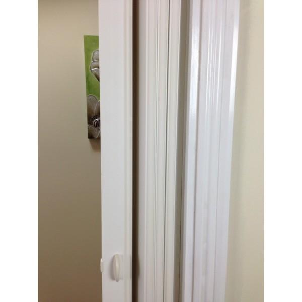Rapid Internal Concertina Door 880mm White