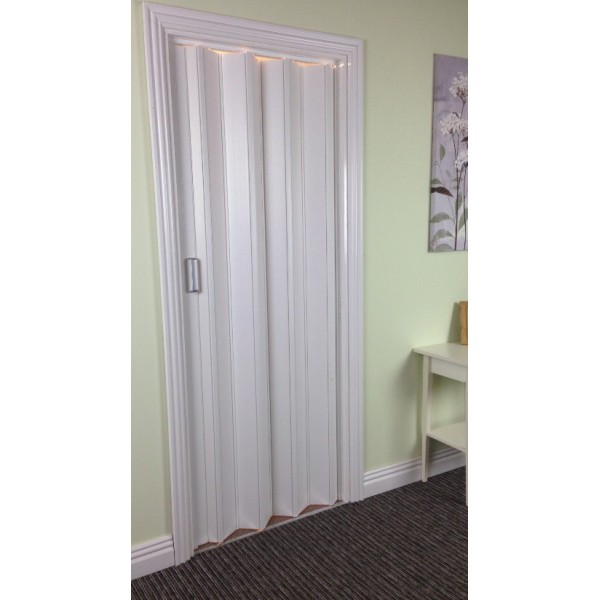 The Tango Marley Concertina Folding Door 850mm White